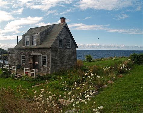 Island Cottage By The Sea A Photo From Maine Northeast Sea Cottages