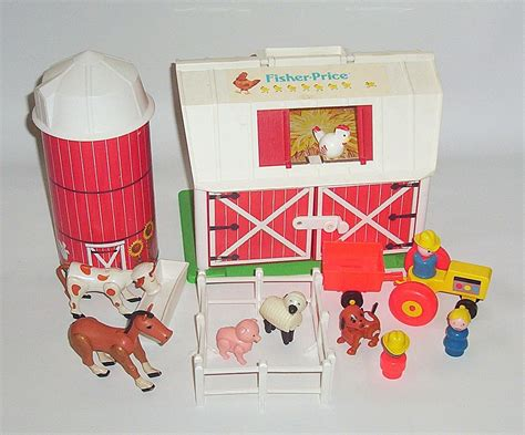 Fisher Price Vintage Toys This Was So Much Fun The Barn Fisher Price Barn Door