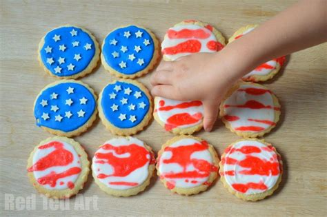Patriotic Decorating Ideas by Easy 4th July Cookie Decorating Activity For Kids Red