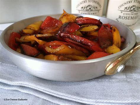 cucinare peperoni in padella peperoni in padella croce e delizia la cuoca galante