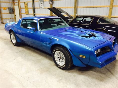 blue book value for used cars 1978 pontiac grand prix lane departure warning 1978 rare martinique blue trans am for sale in carleton michigan united states