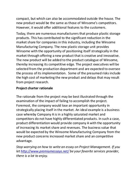 Project Management Essay by College Essays College Application Essays Project Management Essay