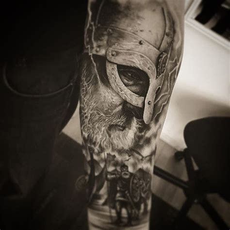 get ready to go marauding with these viking tattoos tattoodo