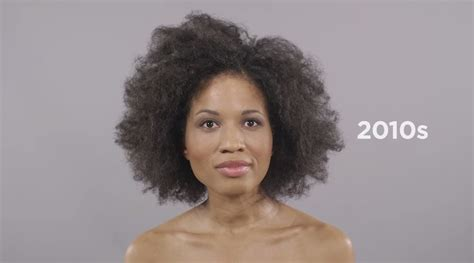 100 year hairstyles 100 years of black hairstyles in 1 minute w marshay clip