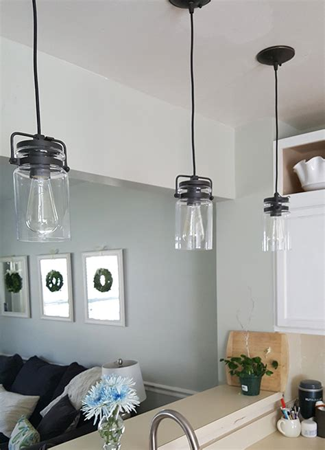 pendant light over kitchen sink kitchen sink pendant light my kitchen s new light