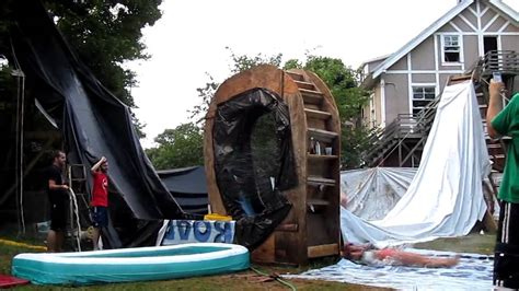 best water slides for backyard backyard waterslide of doom best scary waterslide in the