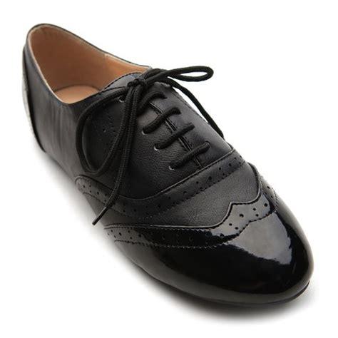 ollio oxford shoes ollio s shoe classics lace up dress low flat heel