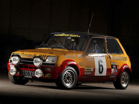 renault rally alpine renault 5 cool cars wallpaper