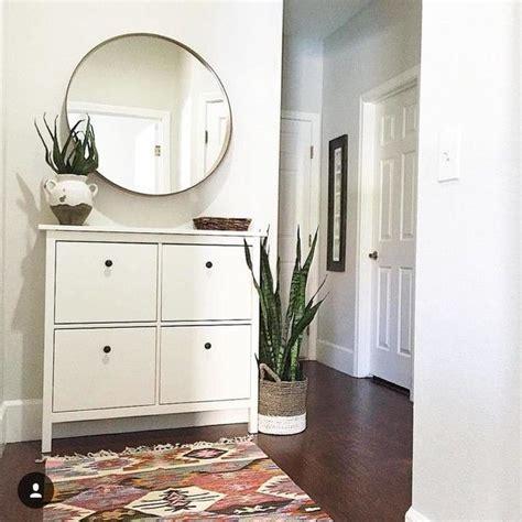 mirrors for living room ikea ikea hemnes shoe cabinet mirror for living room decor i adore