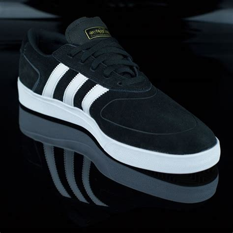 Adidas Silas Black silas vulc adv shoes black white in stock at the boardr