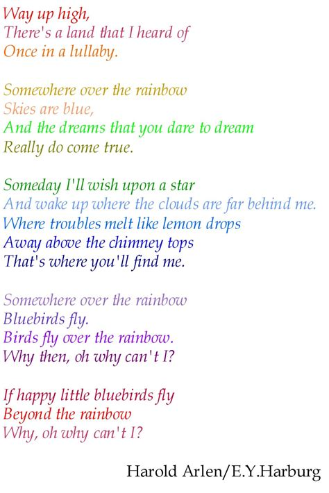 the song from somewhere annie s place somewhere over the rainbow