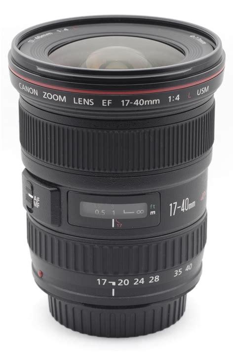 Lensa Canon Ef 17 40mm F 4l Usm canon ef 17 40mm lens