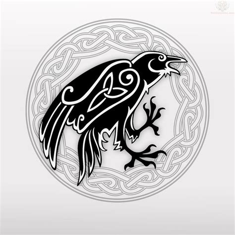 best 25 celtic raven tattoo ideas on pinterest norse
