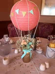 air balloon centerpiece kits 1000 ideas about christening balloons on
