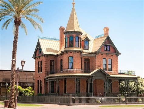 Phoenix Arizona Rosson House Museum Photo Picture Image