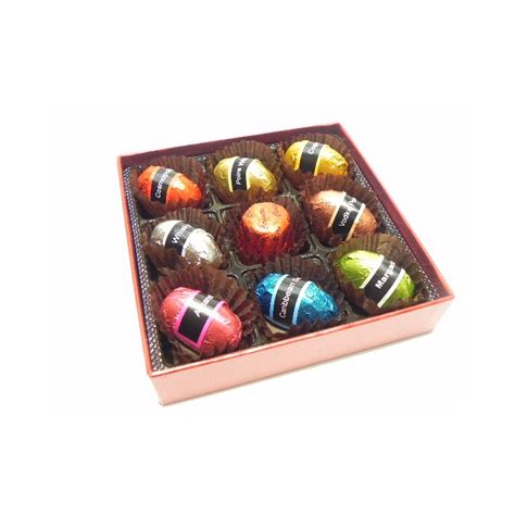 Se Chi Cuen Tea Box Besar whisky bonbon 9 chocolates 1701293 giftskorea