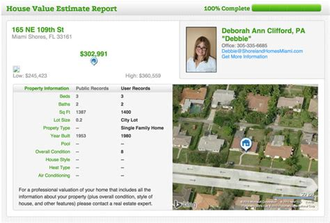 house value estimate depositfilespie