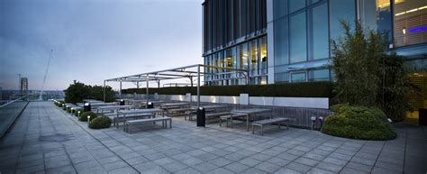 Best Private Dining Rooms In London - roof terraces