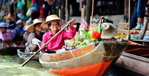 floating boat market experience bangkok s floating markets thailand day tours