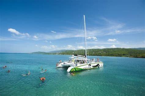 catamaran cruise in jamaica soul rebel catamaran cruise at island routes jamaica