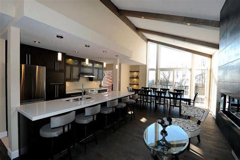 cuisine salon salle à manger d 233 coration salon salle manger aire ouverte