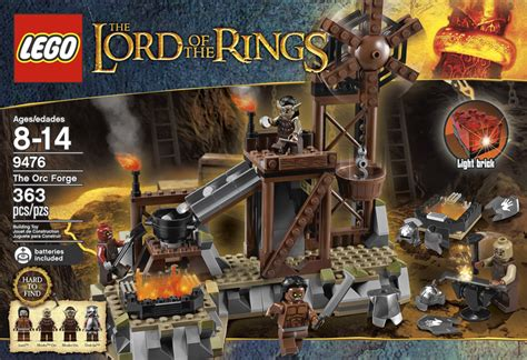 new lego the lord of the rings the orc forge set revealed