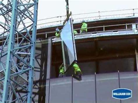 curtain wall installation the glass racking company ks400 robot curtainwall insta