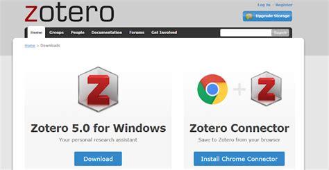 tutorial descargar zotero on your way