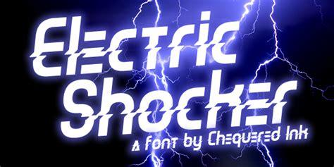 dafont electric electric shocker dafont com