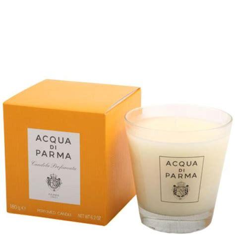 candele acqua di parma acqua di parma colonia large glass candle 180g