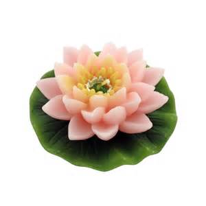 Lotus Flower Candle Pink Lotus Flower Candle Only 6 69 Unique Gifts