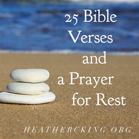 Marriage Bible Verses Esv by 25 Bible Verses And A Prayer For Rest C King