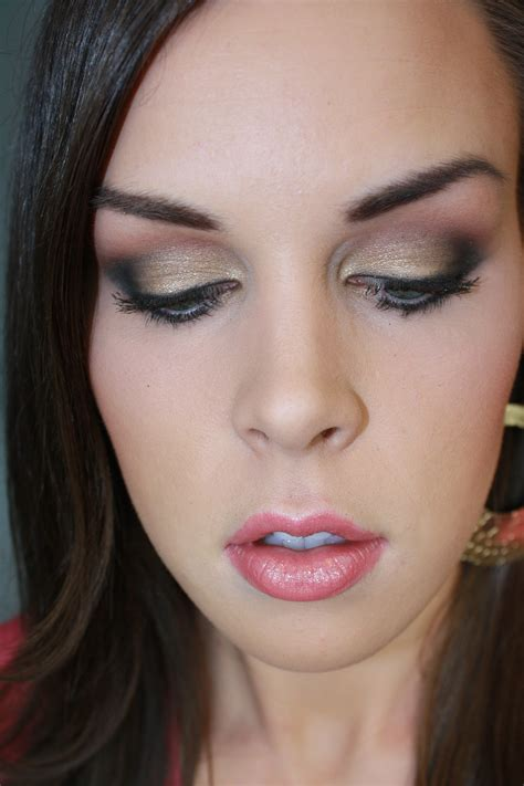 Eyeshadow Makeover classic gold makeup tutorial