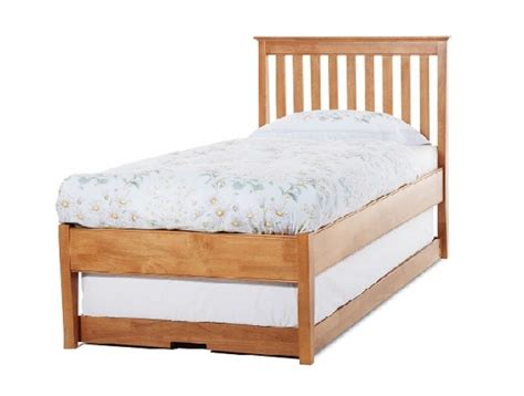Low Single Bed Frame Serene Grace 3ft Single Cherry Wooden Guest Bed Frame With Low Foot End By Serene Furnishings
