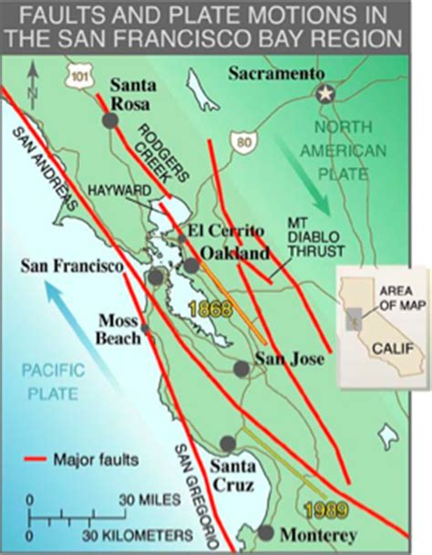 hayward fault map the hayward fault more