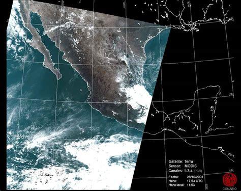 imagenes satelitales conabio antena modis