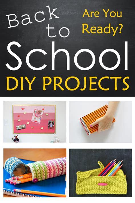 diy school projects 10 back to school diy projects
