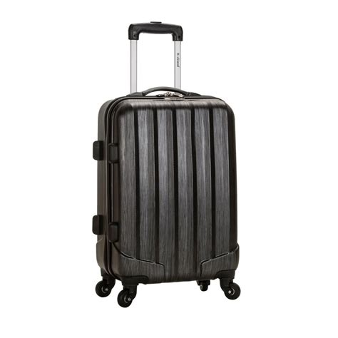 rockland 20 in carry on luggage f145 metallic the home