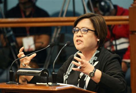 the leader i want leila de limas to fix list for 2016 house minority wants de lima charged for plunder bribery