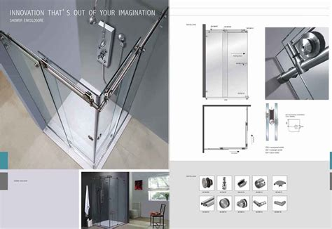 Glass Shower Door Parts Shower Doors Sliding Glass Shower Door Parts