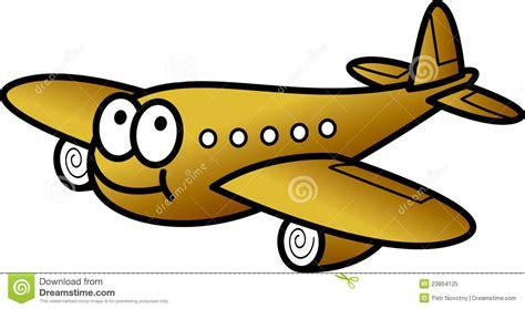 clipart divertenti aereo divertente illustrazione vettoriale illustrazione