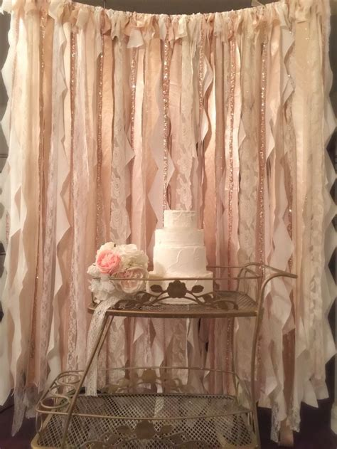 Wedding Lace Backdrop by Best 25 Ribbon Backdrop Ideas On Ceremony