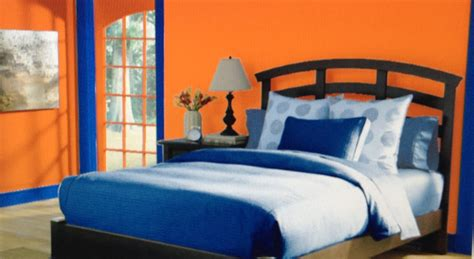 complementary color scheme room this is a complementary bedroom with a color scheme of