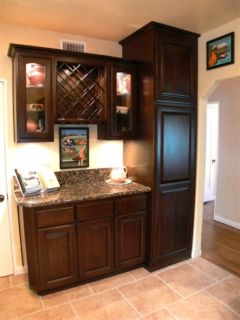 kitchen cabinets with wine rack kitchen cabinet wine rack