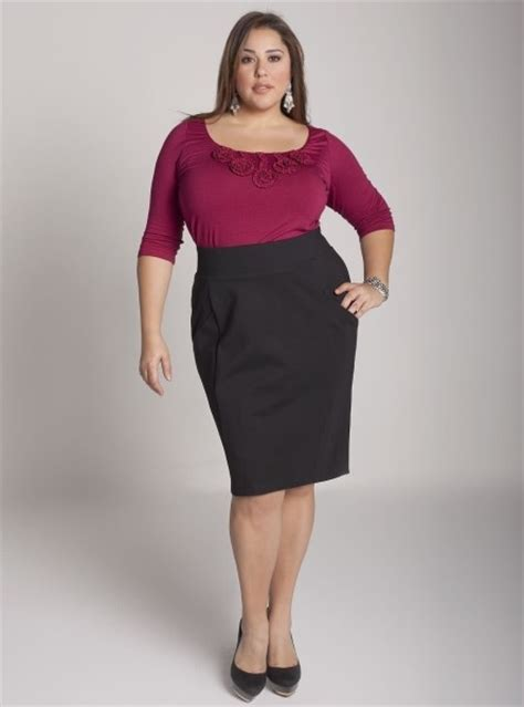 fashionable skirts 2016 for plus size photos and