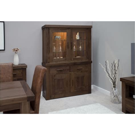 Display Cabinets Dining Room Furniture Kendo Solid Modern Walnut Furniture Dining Room Dresser Display Cabinet Ebay