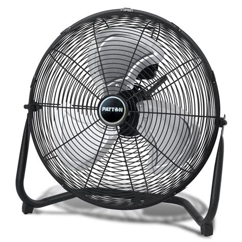 patton high velocity fan amazon com patton 20 inch high velocity fan puf2010b bm
