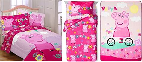 peppa pig twin bedding peppa pig girls twin bedding collection buy online in
