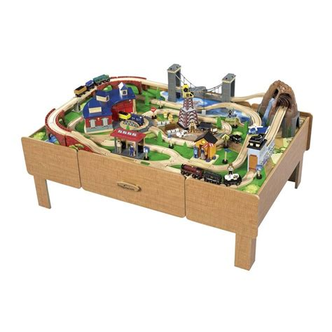 train table with drawers toys r us pin imaginarium train table track layout image search