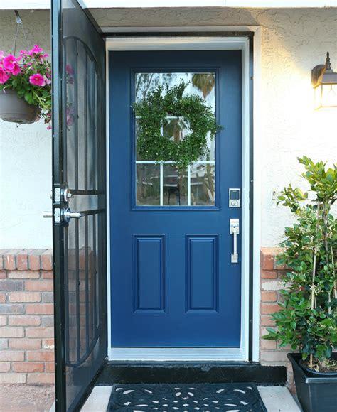 paint  front door  removing  classy